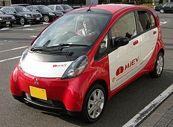 Mitsubishi i MiEV, Elektroauto, Elektromobil