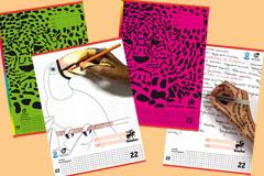 Schulhefte aus Recyclingpapier gibt es z.B vom Hersteller Staufen