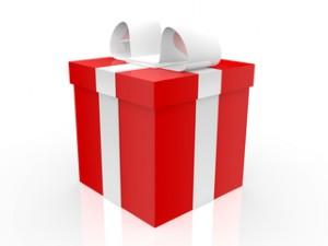 Geburtstagsgeschenk, Karton