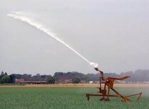 Feld, Bewässerung