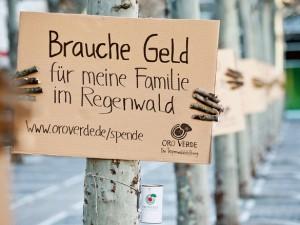 OroVerde Regenwald Fundraising