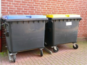 Müll, Müllcontainer, Container, Containern, Dumpster