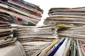 Altpapier, Zeitungen, Papier