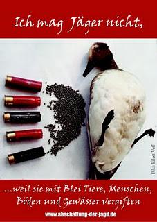 Kampagne gegen Munition aus Blei