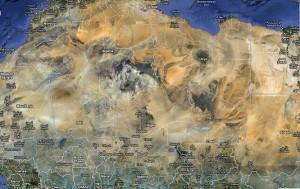 Sahara, Map