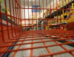 Einkaufswagen, Supermarkt, Konsum