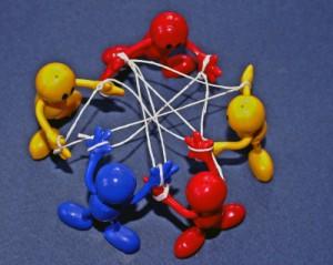 Netzwerk knüpfen, Leute kennen lernen