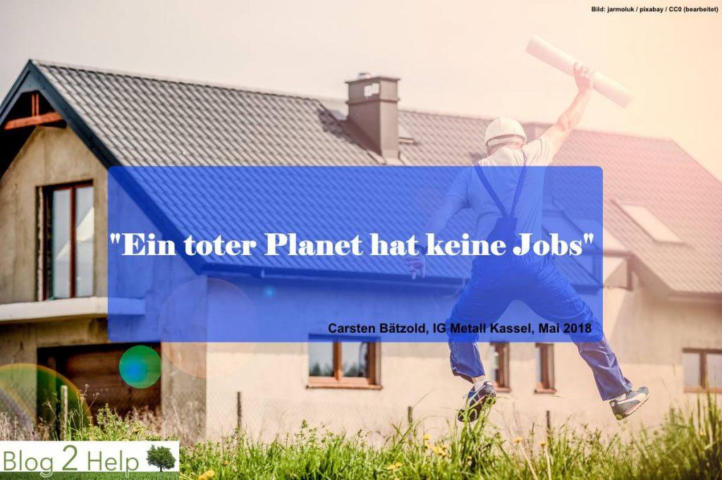 Zitat: Ein toter Planet hat keine Jobs
