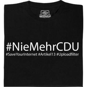 #NieMehrCDU Shirt