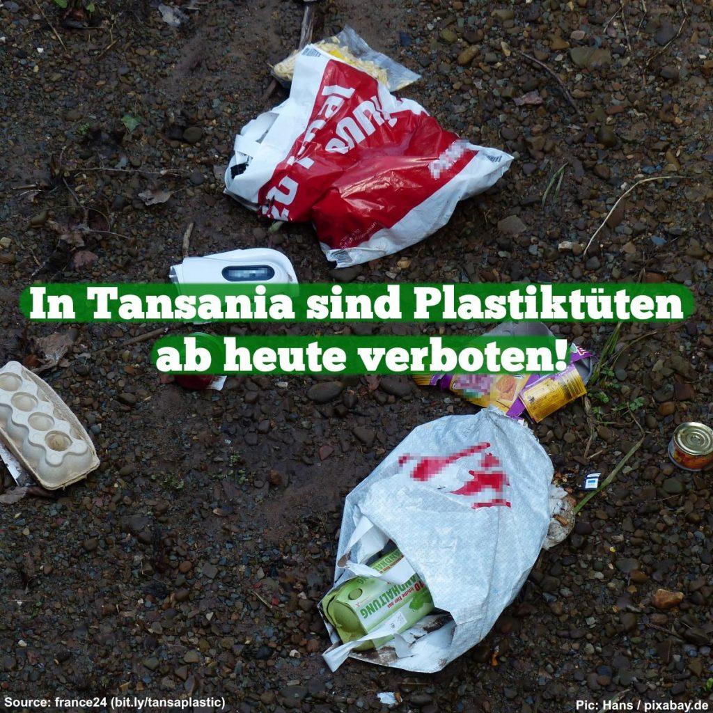 Plastiktütenverbot in Tansania Meme