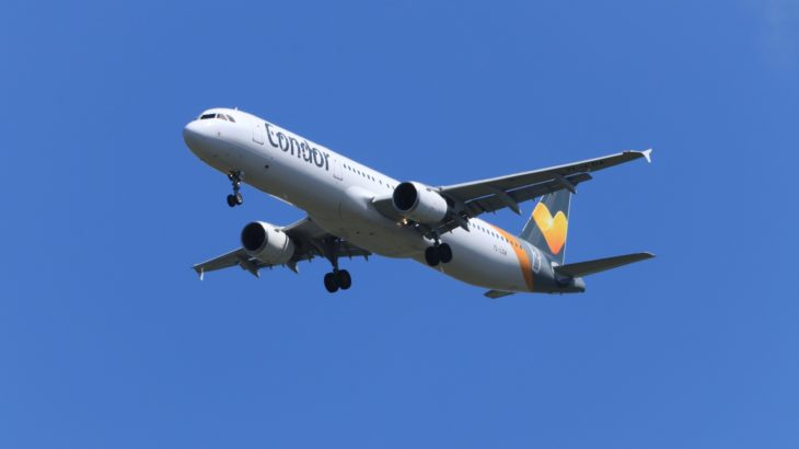 Flugzeug der Fluggesellschaft Condor