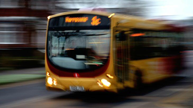 Gelber Stadtbus