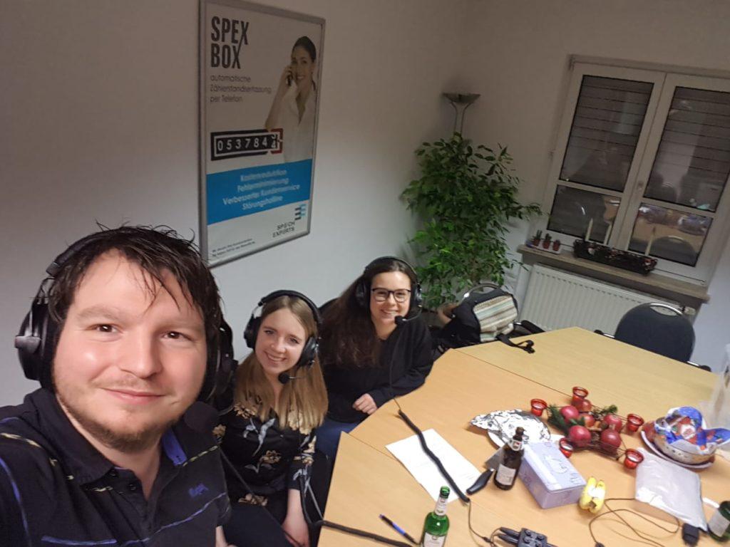 Robert, Andrea und Nadine von der ÖDP Regensburg
