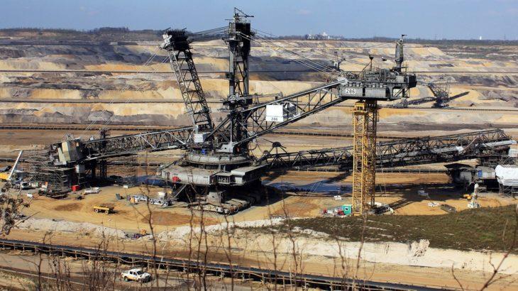 Tagebau Kohle