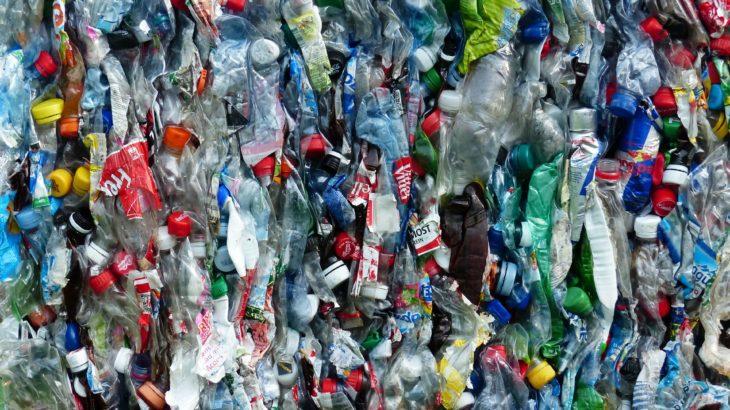 Recycling Plastikflaschen